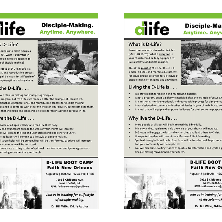 Disciple Life Training