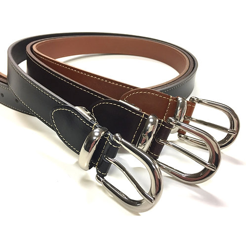 TACHIYA Men's Leather Belt