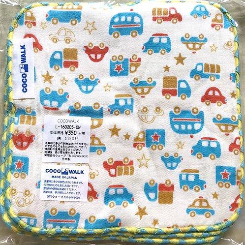Cocowalk Baby Cotton Handkerchief (Assorted Cars)