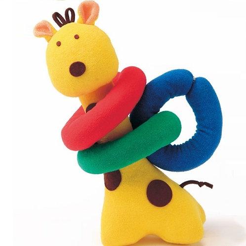 CouCou Cotton Baby Educational Toy Giraffe