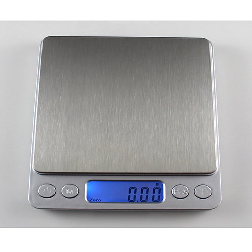 Digital Precision Platform Scale Stainless Steel 500g/0.01g