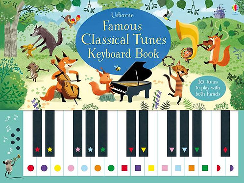 Usborne ~ Classical Tunes Keyboard Book