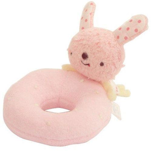 Anano Café Baby Toy Rattle - Ring (Rabbit)