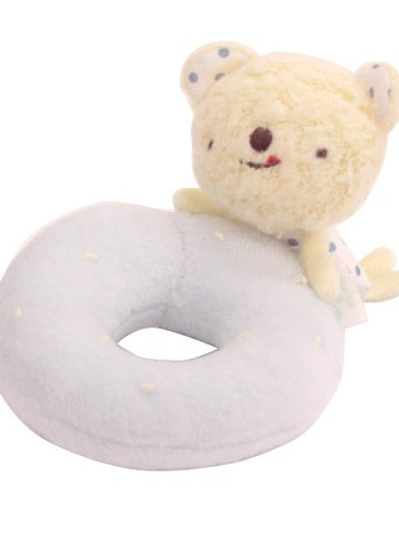 Anano Café Baby Toy Rattle - Ring (Bear)