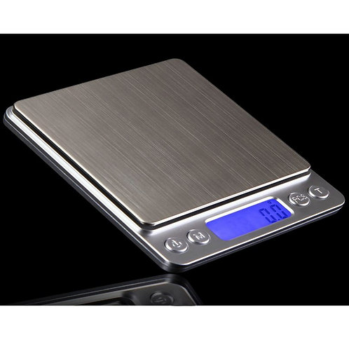 Digital Precision Kitchen Platform Scale Stainless Steel 3kg / 0.1g