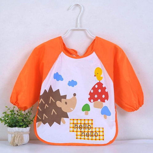 Long Sleeve Baby Meal Apron