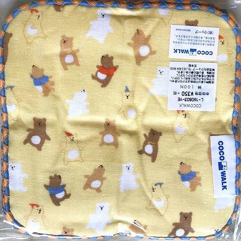 Cocowalk Baby Cotton Handkerchief (Bear)