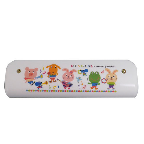 Rub a dub dub Baby Toy Musical Instrument Harmonica