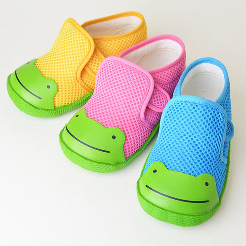POMPKINS Cute Frog Shoes