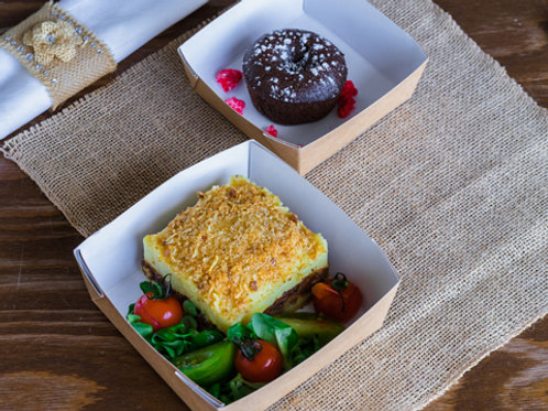 Mercredi : Plat + Dessert