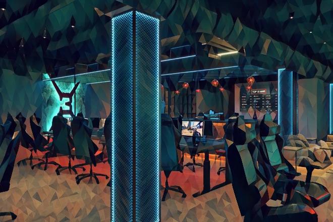 Фото интерьера компьютерного клуба x-3