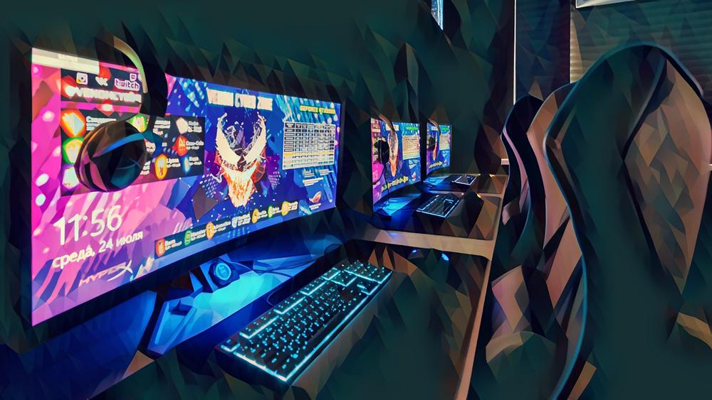 Фото интерьера компьютерного клуба Venom Cyber Zone