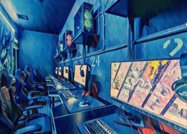 Фото интерьера компьютерного клуба Colizeum