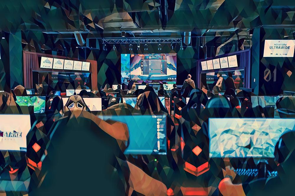 Фото интерьера компьютерного клуба Winstrike Arena на Лубянке