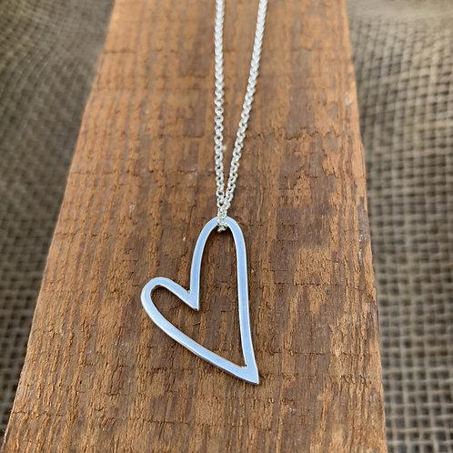 Heart Charm & Chain