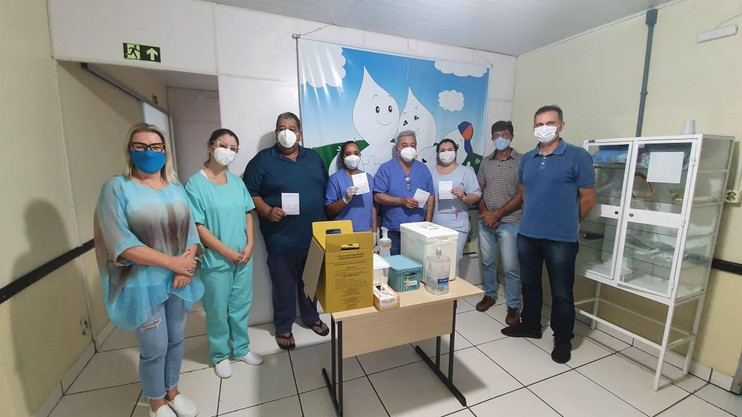Minas do Leão inicia vacinação contra a Covid-19