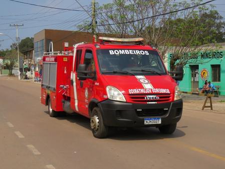 Bombeiros Voluntários e empresa Tazay farão a desinfecção da área central da cidade
