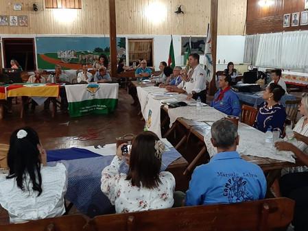 Ivan Botelho é empossado para mais um mandato como coordenador da 2ª Região Tradicionalista