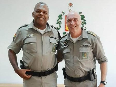 Comandante do 28º BPM reune-se com Comandante Geral da Brigada Militar