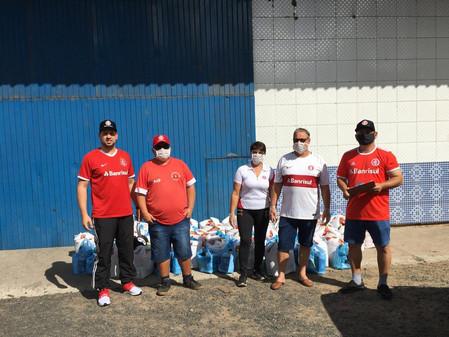Consulado do Inter de Butiá e Minas do Leão distribuem alimentos