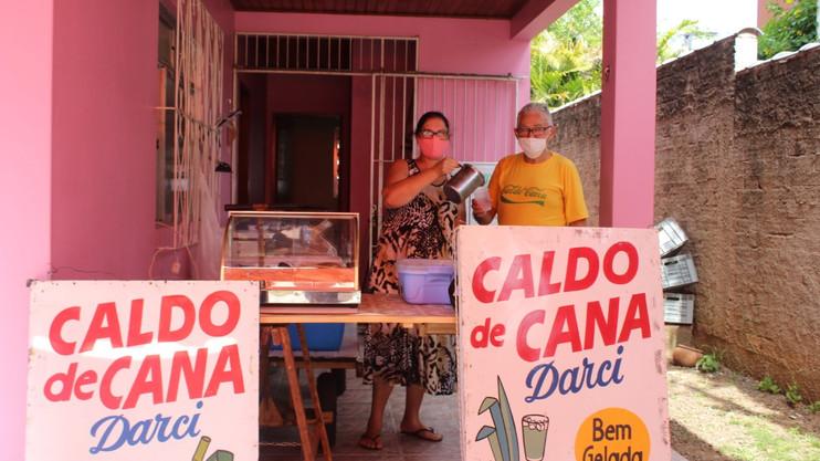 Venda de Caldo de Cana é uma nova proposta de bebida na cidade