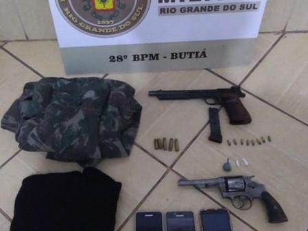 Brigada Militar prende suspeitos por tentativa de homicídio na madrugada