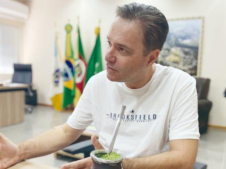 Prefeito de Minas do Leão divulga vídeo repudiando as atitudes do Governador do Rio Grande do Sul