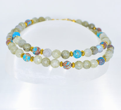 Vibrant Vortex Necklace