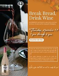 VineAmericas_BreakBread,DrinkWine_Flyer-