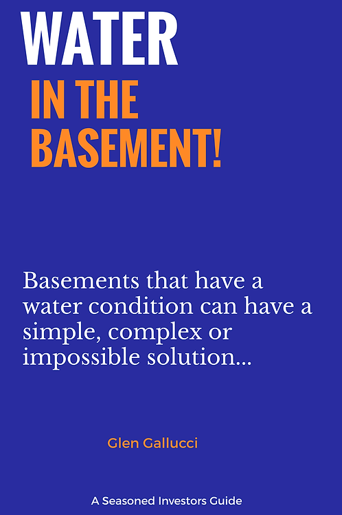 Water In The Basement