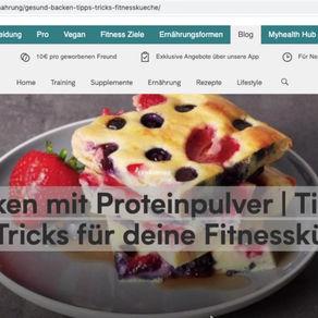 11 Rezepte -Backen 🧁 mit Proteinpulver | Tipps und Tricks für deine Fitnessküche 💪