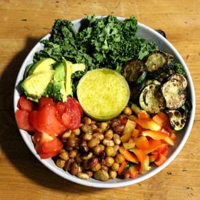 Make yourself a Leftover-Bowl! Vegan edition 🥗 🥑 🥬