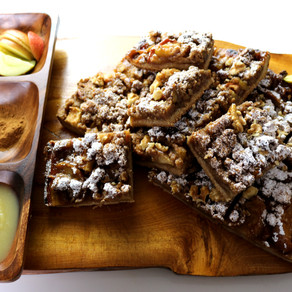 Vegan Apple Crumble 🍏  Kalorienarm