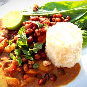Caramelised Chickpea-Curry (vegan)