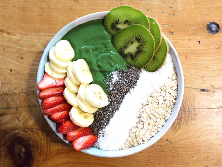 Green Immune-Boost Smoothie-Bowl 🍏🥝