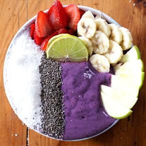 Protein Smoothie Bowl: Berry Blast 🍓🍌