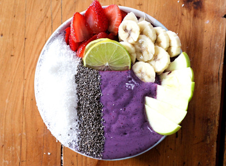 Protein Smoothie Bowl: Berry Blast 🍓🍌