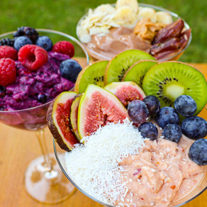 3 Protein Icecream-Recipes for #loosing or #gaining weight🍦🍓🍍