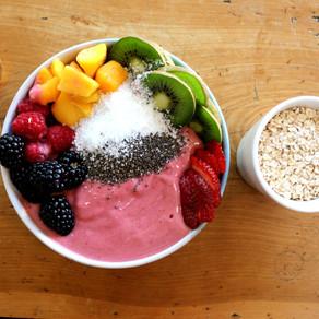 Pink Protein Smoothie Bowl 🌸