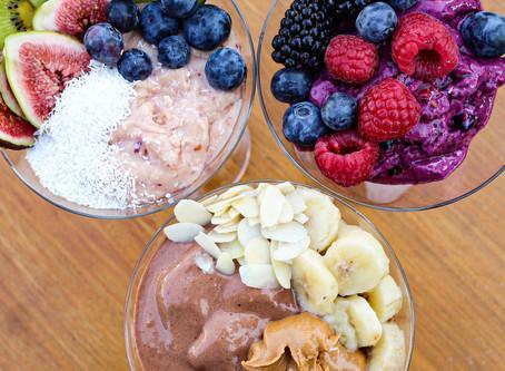 3 Protein Eiscreme-Rezepte für die #Diät oder den #Aufbau🍦🍓🍍