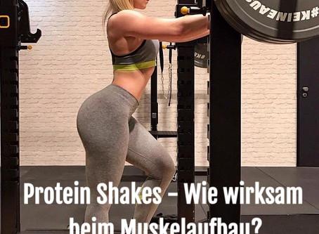 Wie wirksam sind Protein Shakes beim Muskelaufbau?
