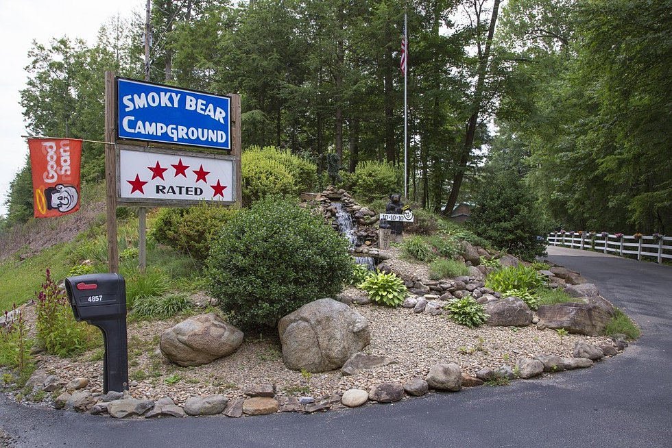 Smoky Bear Campground Amp Rv Park In Gatlinburg Tn Great