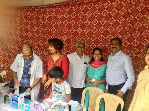 medicine distribution & Food Distribution to varkaris