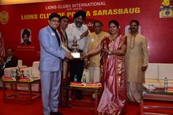 Replica of Best Lion Trophy