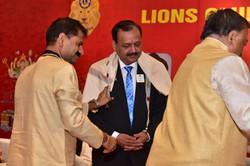 Felicitation of Lion Ramesh Shah