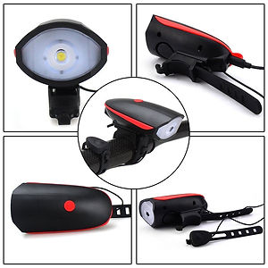 LED Light with Horn