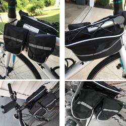 4 in 1 Saddle Bike Bag