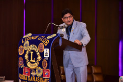 Address by DG Lion Girish Malpani