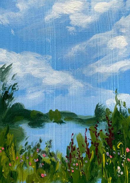Mini Blue Lake