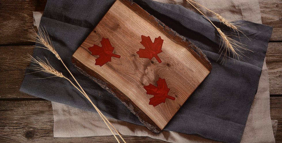 3 Maple Leaf Art Board